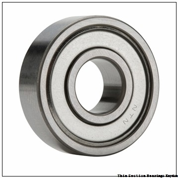 SKF 6012-2RS1/C3  Single Row Ball Bearings